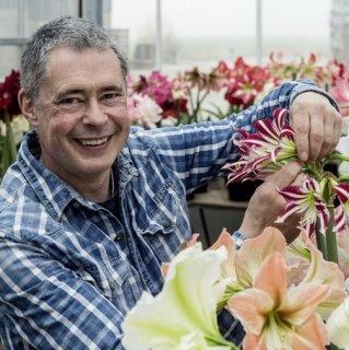 Blumenzwiebelexperte Carlos van der Veek von Fluwel
