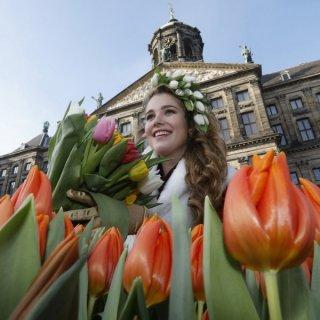 Tulpenbotschafterin Flora Munster
