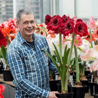 Blumenzwiebelexperte Carlos van der Veek